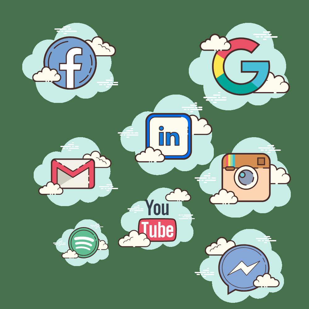 Redes sociales utilizadas para analizar por community manager